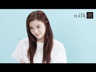 2016: Ли Сон Бин для Mise en Scene, сегмент Likeit Hair ' Play your hair' #6