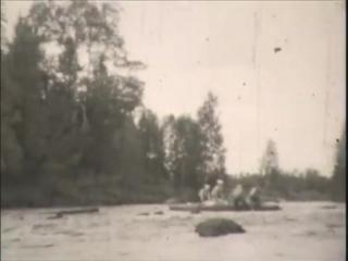 Байдарочный поход по р.Охта. 1984 год.