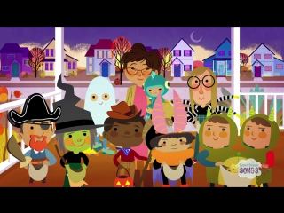 Hello, My Friends - Trick-Or-Treating Song - Super Simple Songs