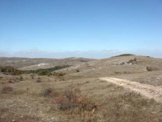 На самом верху Караби плато (тюр. - яйла)