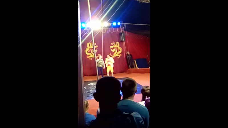 Анатолий Акула цирк золотой дракон