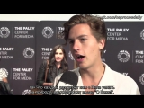 [SUBS] Riverdale's Lili Reinhart and Cole Sprouse spill the details about that famous Instagram post