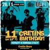 26.11 Cretin Boys Birthday: концерт для Стаса!