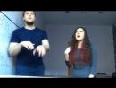 SPOD ( Евгений Саенко) и Любовь Балдина - beatbox СЕРЕБРО - МАЛО ТЕБЯ