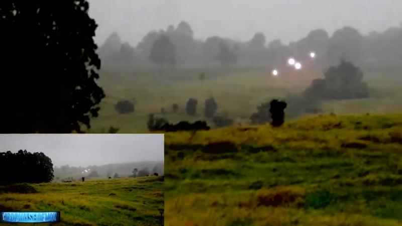 ..?? Britânicos conseguiram filmar uma espetacular formação OVNI . Vídeo Incrível