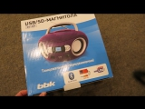 Распаковка и обзор магнитолы BBK BS15BT
