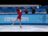 [ОИ2014] Командный турнир ПП Юлия Липницкая (NBC) SOCHI 2014
