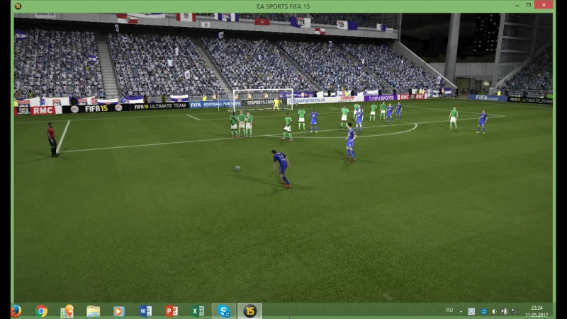 FIFA 15. Fekir (Saint-Étienne 0-4 OL)