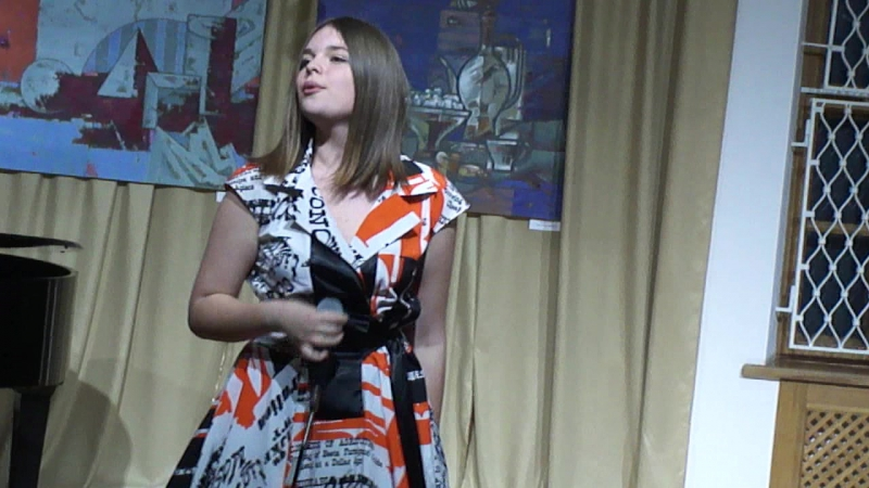 Благодійний вечір акустичної музики. Еліна Іващенко 1944 (Jamala сover)