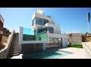 Новые виллы Balcon De Finestrat. Недвижимость в Испании у моря