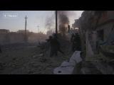 На передовой иракский спецназ в боях против ИГИЛ за Мосул. Документальный фильм...