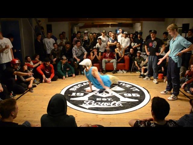 Uzee Rock (Tatanaka) vs Flowjob 1.Round BATTLE OF MINGA