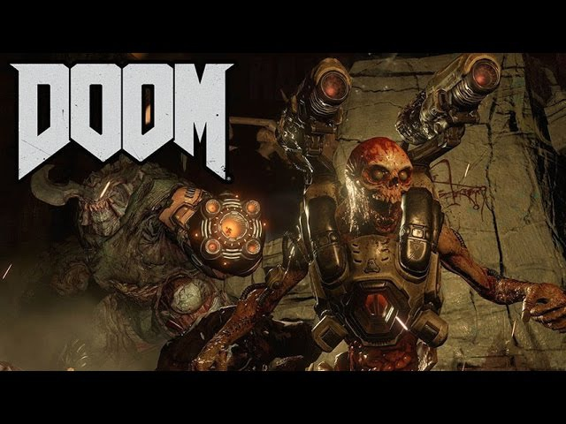 DOOM 2016 Gameplay - GTX 660 / i5 2500k 3.3Ghz / 8GB (PC HD)