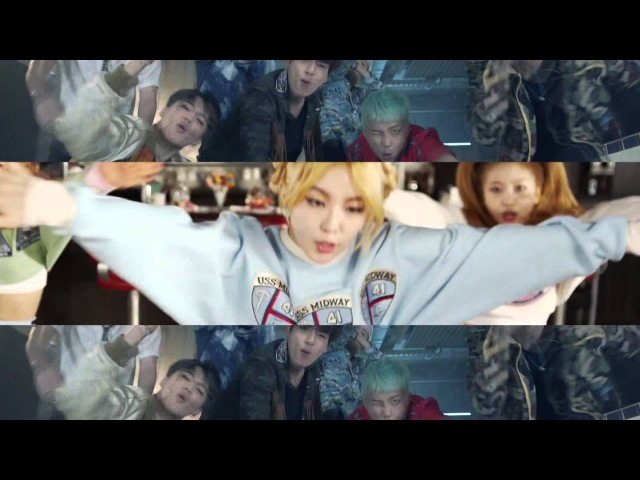 BTS/RED VELVET - Fire/Ice Cream Cake MASHUP [by RYUSERALOVER]