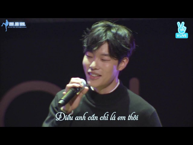 [VIETSUB][160925] Birthday Fanmeeting - Ryu Jun Yeol - My Very Own (Kim Dong Ryul Cover)