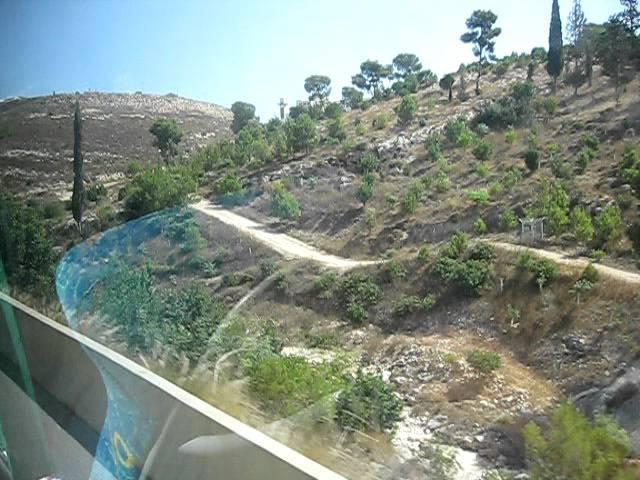 Израиль Изреэльская долина и гора Фавор