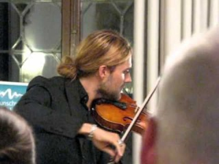 DAVID GARRETT & JULIEN QUENTIN in Venice -