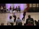 Ben Morris &amp Melissa Rutz Winning Improv West Coast Swing, Seattle Easter Swing
