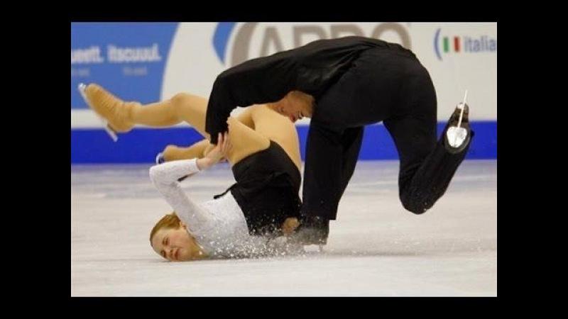 Worst of Figure Skating Couple Falls