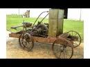 Необычный старинный трактор 1904 года