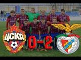 ЦСКА - Бенфика  0:2 ОБЗОР МАТЧА HD.Юношеская Лига УЕФА 2016/2017, 1/4 финала.