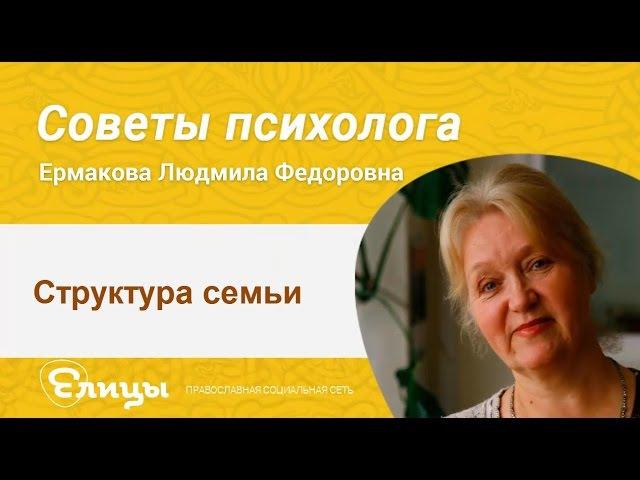 Структура семьи - теща, муж, жена и дети, где чье место в семье? Психолог Ермакова Людмила