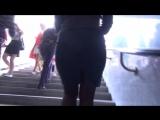 SEXy Girl in Mini Skirt !!! BIG ASS !!! Сексуальная девушка с Большой попой и в короткой юбке !!! Part One