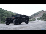 Hummer H1 on Fuel Hostage Wheels by California Wheels