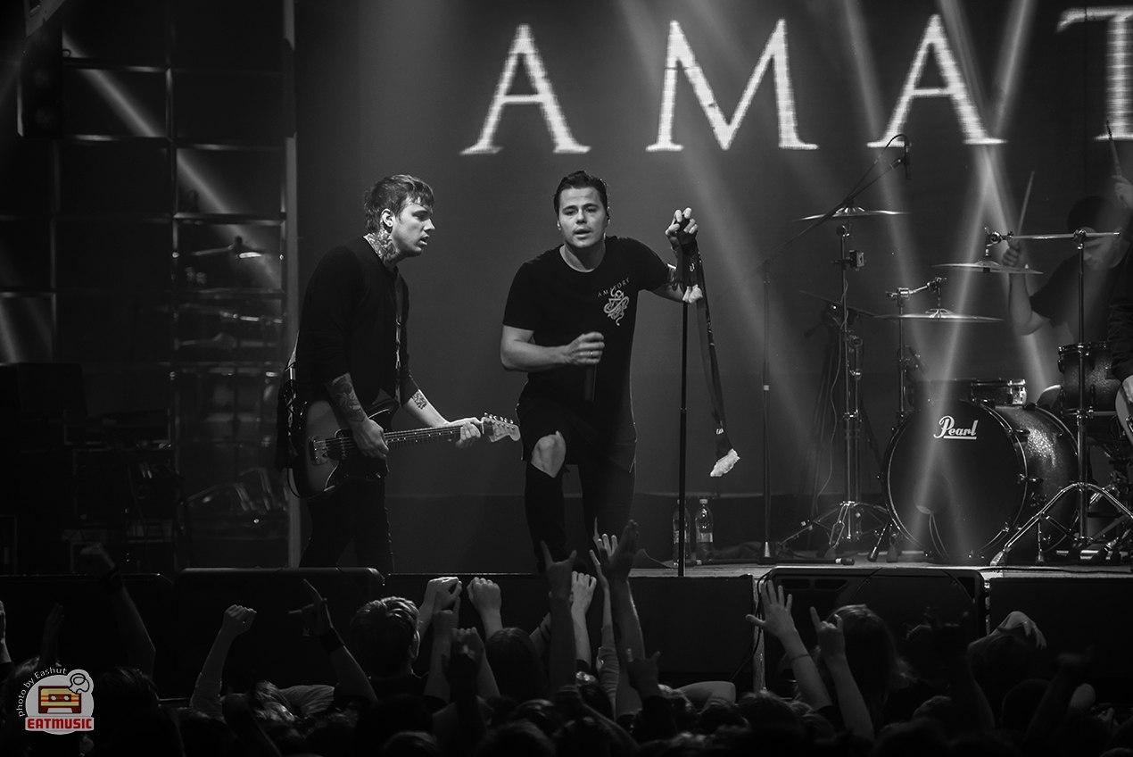 Концерт группы [AMATORY] в Stereo Hall