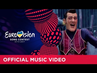 LazyTown  - We are Number One (Novorossia) Eurovision 2017 - Official Music Video