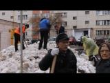 Акция Чистый двор - чистая совесть (Ленинский район Уфы, 15.04.2017)