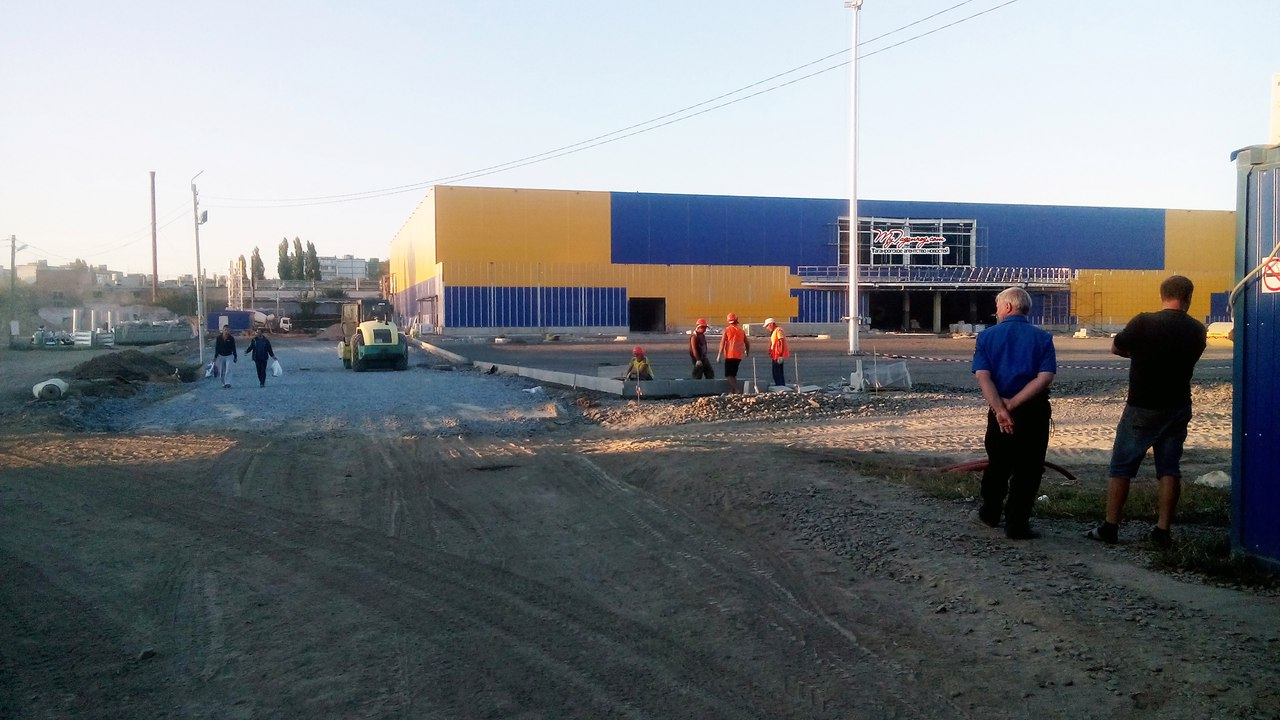 Новый гипермаркет «Лента» в Таганроге откроется в конце октября