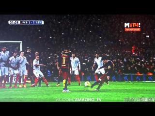 Messi free-kick |ED| vk.com/amazing_fv