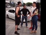 Кавказская девушка решила познакомить русского парня со своими братьями 😂😂😂