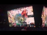 Завершение первой игры DC vs WINGS (победа за WINGS)