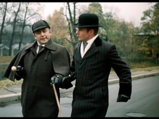 Приключения Шерлока Холмса и доктора Ватсона: сокровища Агры 1 серия (1983)