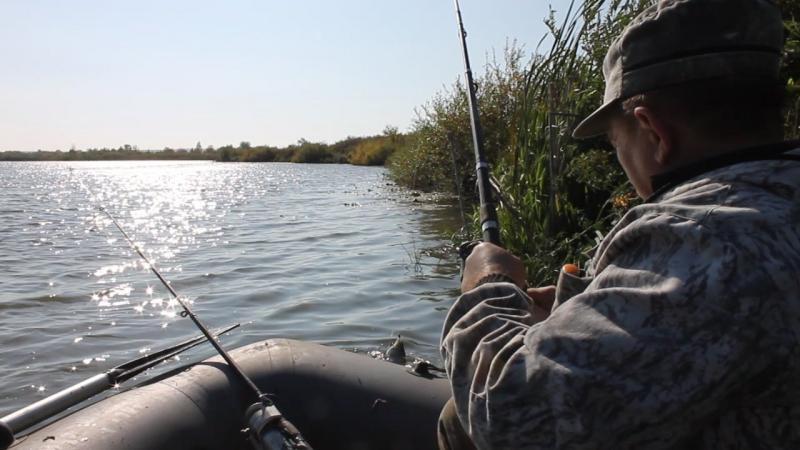 Озеро Чатлы куль. Отец и карп :)