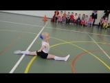 Юная гимнастка - Весёлые старты 20.02.2017