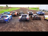 BiG DiRTY 2016 - PT 3 4WD BATTLE for POSiTiON - 15 Scale Offroad Racing Event  RC ADVENTURES
