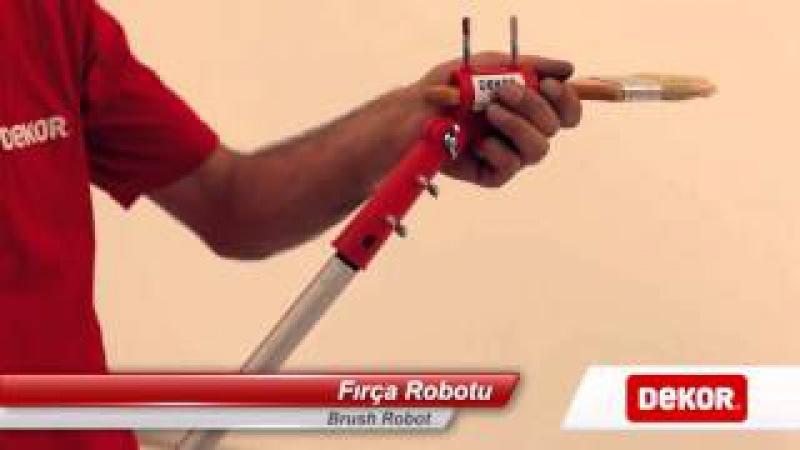 Dekor 1188 Fırça Robotu