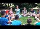 Урок ЖЯ для детей в лагере Капелька любви
