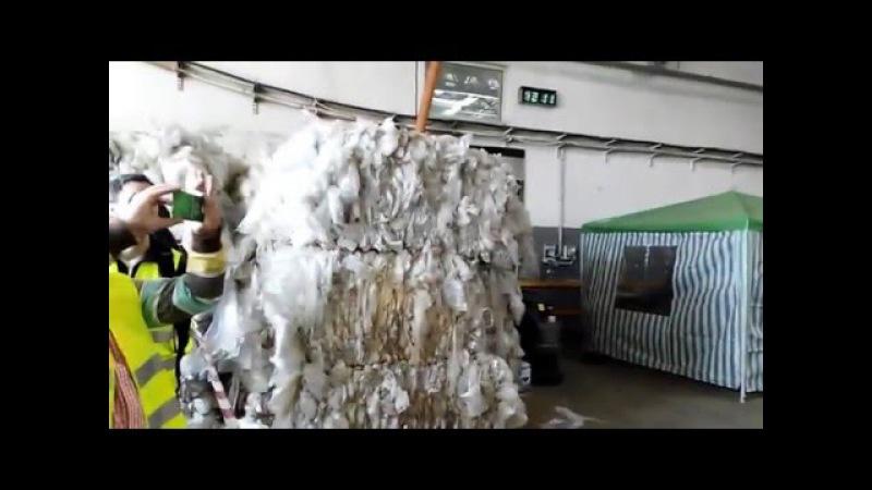 Recyclix Видео от немецких партнеров при посещении завода Riga, Lettland 03.05.2016.
