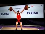 Lasha Talakhadze Snatch 212kg European Record