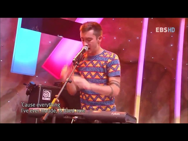 Twenty one pilots Time To Say Goodbye (live EBS Space 5 october 2012 )