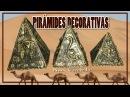 PIRÁMIDES EGIPCIAS DECORATIVAS