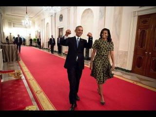 Без комментариев: Барак и Мишель Обама танцуют в День «Звездных войн»