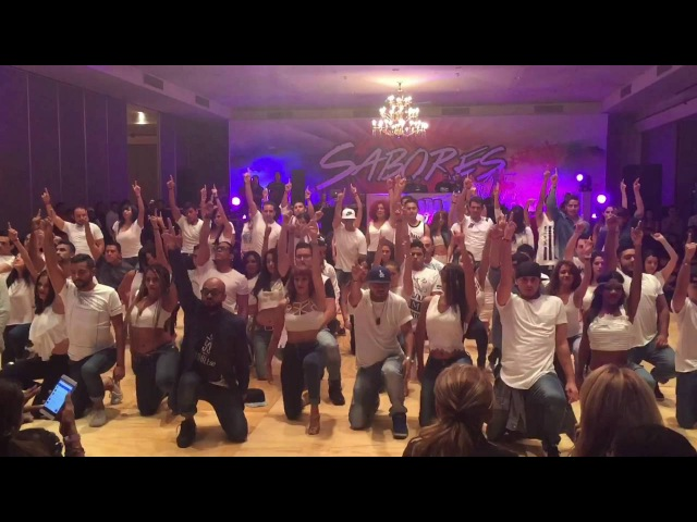Challenge Kizomba en Pareja by Albir Rojas y Sara Panero   Fusion SalsaFest 2016