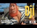 CGI 3D Animated Short Film DJI. DEATH SAILS - Funny Adventure Kids Animation Cartoon By Simpals