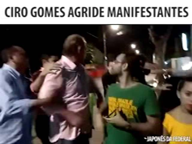 O Truculento Ciro Gomes Agride Cidadãos e Alexandre Frota Revida