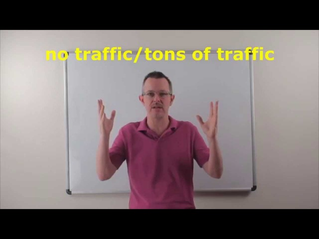Learn English: Daily Easy English Expression 0764: no traffic/tons of traffic